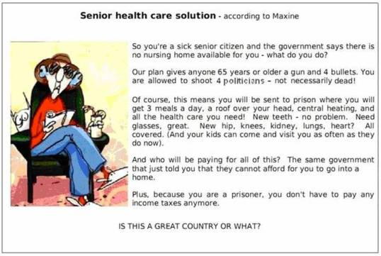 Maxine on HealthCare