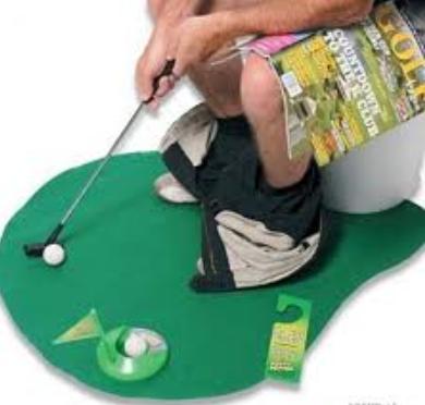 Bathroom-Golfing