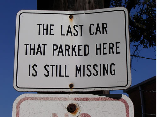 seriously funny crazy parking signs (13)