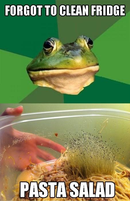 afoulbachelorfrogpastasalad
