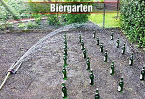 Biergarten-powerfrau